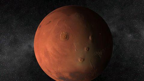Solar System – Mars 3D. Wygaszacz z Czerwoną planetą za darmo