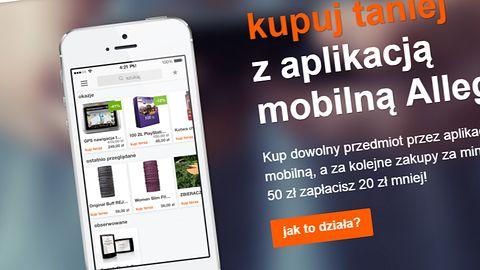 Zgarnij kod rabatowy na zakupy korzystając z mobilnej aplikacji Allegro