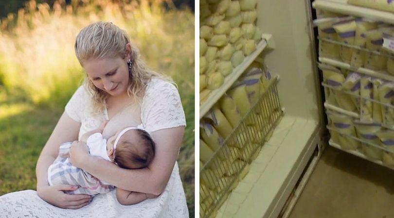Ciało Elisabeth Anderson-Sierra produkuje aż 10 razy więcej mleka