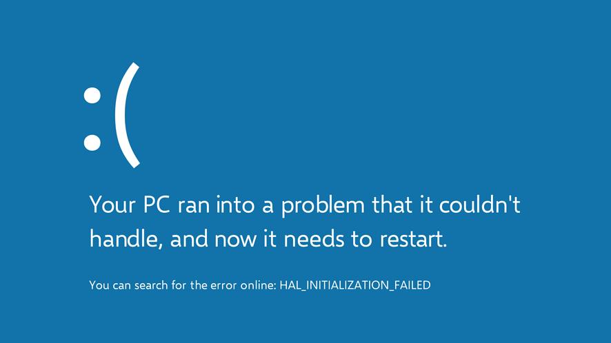 Kolejne blue screeny w Windows 10