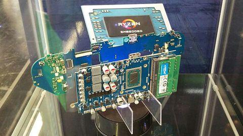 Smach Z – przenośna konsola do gier z procesorem AMD Ryzen i grafiką Vega