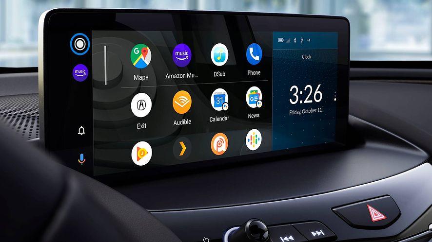 Android Auto ciągle sprawia wiele problemów, fot. materiały prasowe Honda/Acura