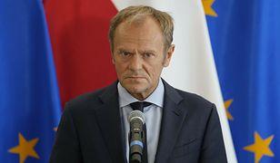 """Tusk: Jarosław Kaczyński nie kocha UE. """"Wycieranie sobie twarzy Lechem Kaczyńskim"""""""