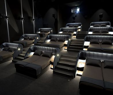 W Szwajcarii powstało kino, które stawia na prawdziwy komfort.