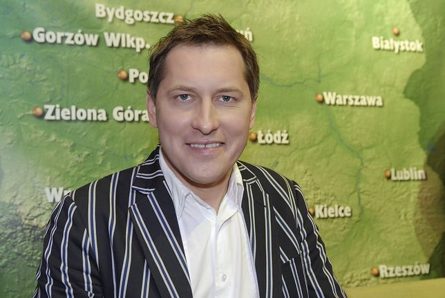 Waldemar Dolecki jest prezenterem pogody w TVP Info