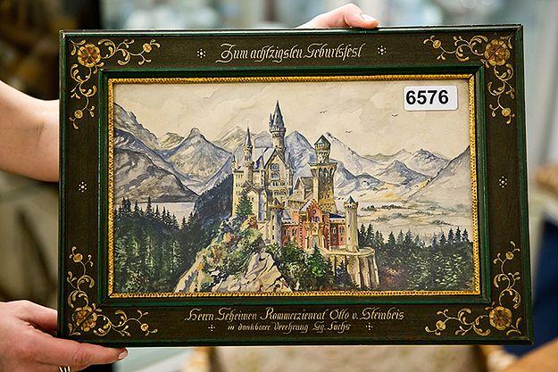 Prawie 400 tys. euro za obrazy Hitlera na aukcji w Norymberdze
