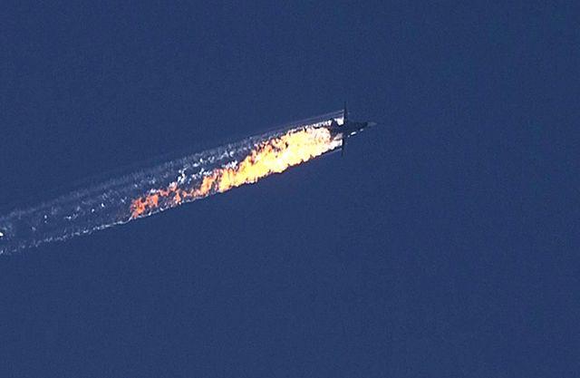 Turcja zestrzeliła rosyjski samolot - zdjęcia