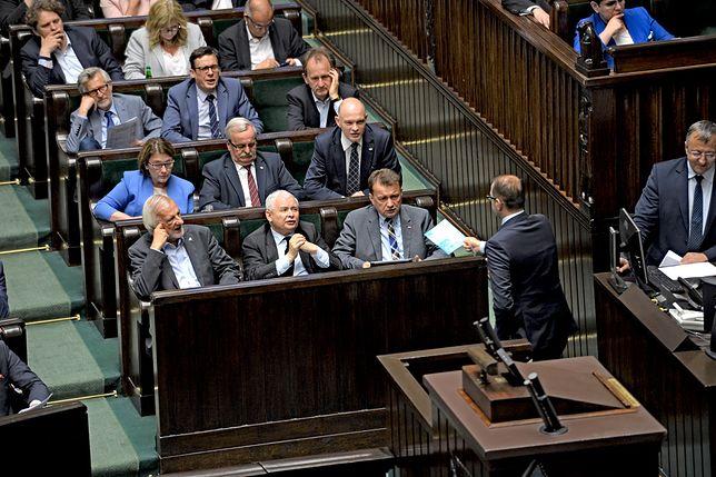 Zachowanie Michała Szczerby nie spodobało się politykom PO