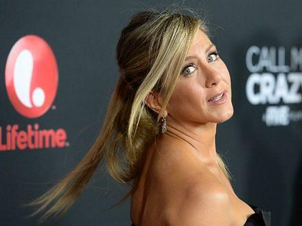 Jennifer Aniston tańczy na rurze