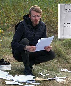 Porzucone dokumenty i ubrania migrantów w lasach. Coraz więcej śladów wędrówki