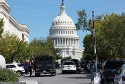 Alarm bombowy przed Biblioteką Kongresu USA