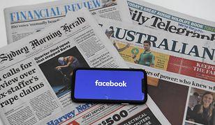 Australia. Facebook zablokował treści newsowe. Użytkownicy oburzeni