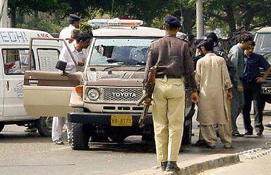 Atak na konwój dowódcy wojskowego w Karaczi