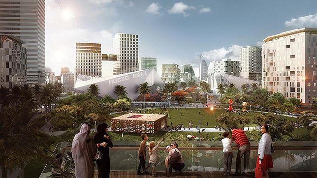 Jumeirah Central - dzielnica przyszłości w Dubaju
