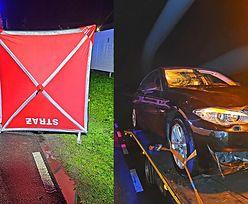 Policja: Noście odblaski! BMW i śmiertelny wypadek w Łódzkiem