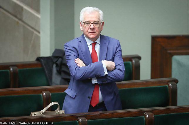 Jacek Czaputowicz nie rozumie zarzutów KE