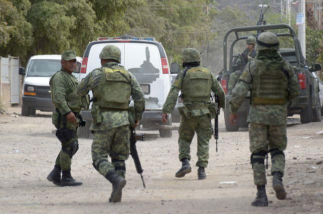 W walkę z meksykańskimi kartelami narkotykowymi zaangażowani są też żołnierze