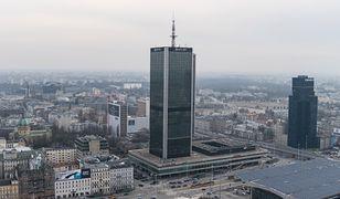 Smog Warszawa 1 marca - zła jakość powietrza w całym mieście.