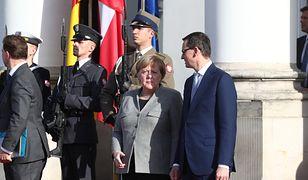 Niemieckie media zastanawiają się, czy Merkel i Morawiecki przełamią niemiecko-polski impas