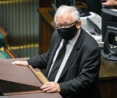 Sejm. Jarosław Kaczyński niespodziewanie opuścił salę obrad