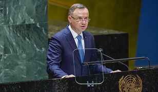 Mocne wystąpienie Andrzeja Dudy na sesji ONZ. Mówił o sytuacji na naszej granicy