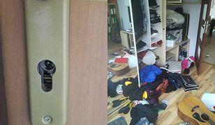 Mieszkanie zostało doszczętnie splądrowane przez złodziei