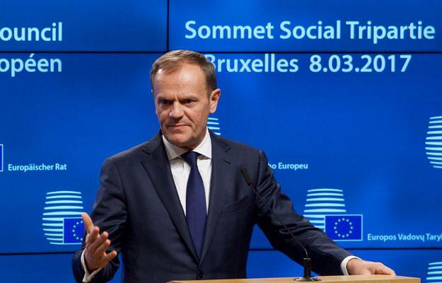 Donald Tusk, przewodniczący Rady Europejskiej