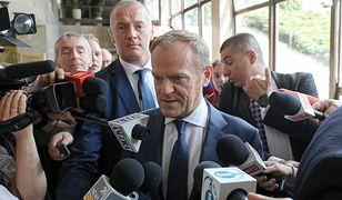 Były premier, szef Rady Europejskiej Donald Tusk