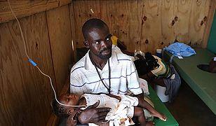 WHO: około 800 przypadków cholery na Haiti po huraganie Matthew