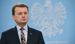 Mariusz Błaszczak w 2018 roku został ministrem obrony narodowej