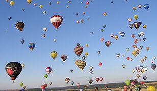 Festiwal balonowy we Francji