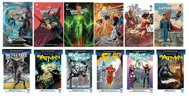 Najsłynniejsi superbohaterowie uniwersum DC zagościli w polskich miastach