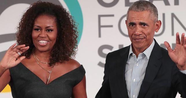 Michelle Obama chciała wyrzucić męża przez okno? Zaskakujące doniesienia