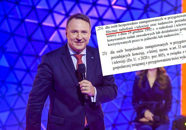 """Jacek Kurski na konferencji zapowiadającej """"Sylwester Marzeń z Dwójką"""""""