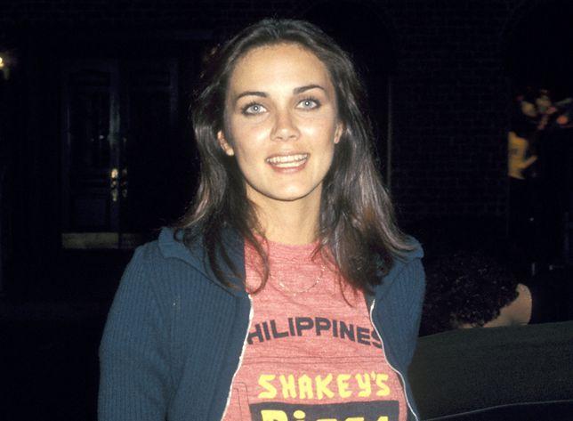 Lynda Carter w 1977 r., gdy była na topie jako Wonder Woman