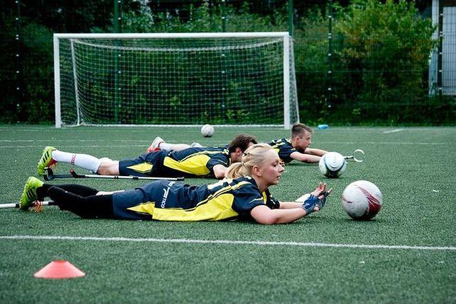 Pierwsza zawodniczka w Polsce, która gra w piłkę nożną osób po amputacjach