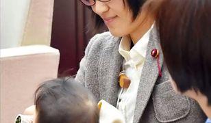 Yuka Ogata z synkiem