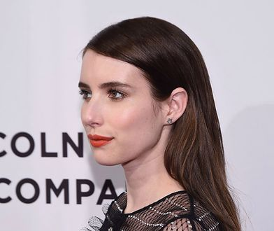 LOOK OF THE DAY: Emma Roberts w koronkach