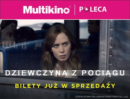 """Ruszyła przedsprzedaż biletów na film """"Dziewczyna z pociągu""""!"""