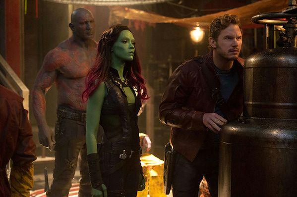 Strażnicy galaktyki z Avengersami
