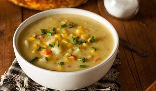 Corn chowder, czyli kremowa zupa kukurydziana