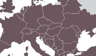 Europe detailed map. Vector illustration