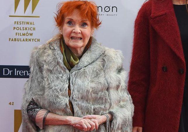 Barbara Krafftówna ma problemy z pamięcią