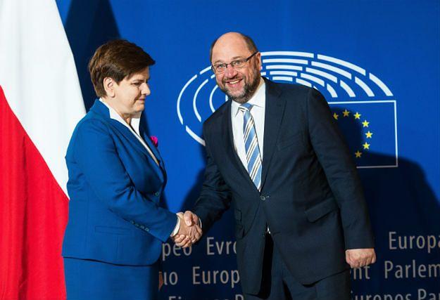 Przewodniczący PE po rozmowie z premier Beatą Szydło: to będzie bardzo interesujący dzień dla Polski i europarlamentu