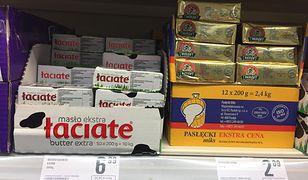 Jak myślisz, że cena masła nie rośnie, to lepiej dokładnie sprawdź opakowanie