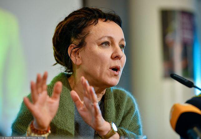 Olga Tokarczuk z literackim Noblem. Grzegorz Schetyna powtarza jej słowa