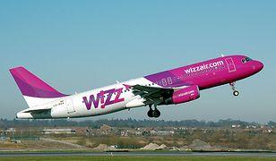 Wizz Air odwołuje loty do Włoch i Izraela