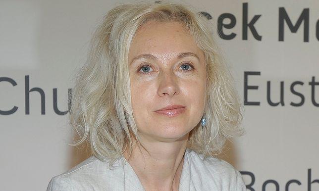 Manuela Gretkowska skomentowała sprawę Jakuba Żulczyka.