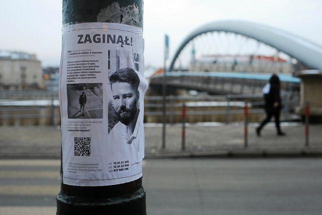 W poszukiwania Piotra Kijanki zaangażowały się setki krakowian