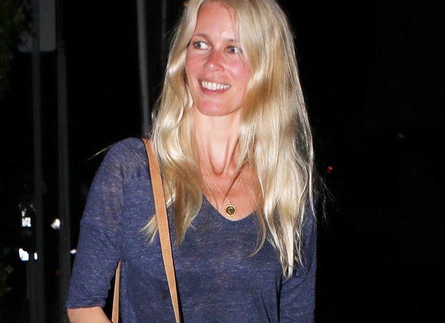 Naturalna Claudia Schiffer